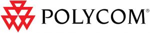 Polycom logo.