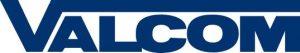 Valcom logo.