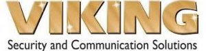 Viking security and communication solutions logo.