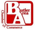 Butler Area Chamber of Commerce logo.