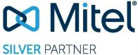 Mitel Silver Partner logo.